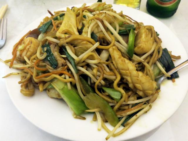 康年炒麺(Combination Chow Mein) $11.50
