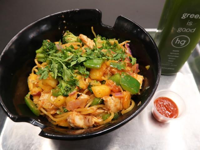Stir-Fry: Spicy Garlic & green is good