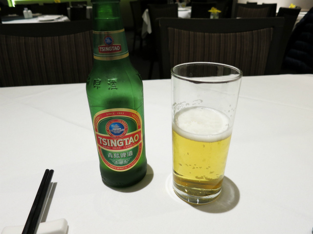 Tsing Tao Beer(青島ビール) £6.40