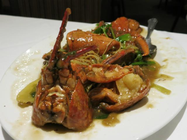 Lobster w/ Noodles, Seasonal Price!!