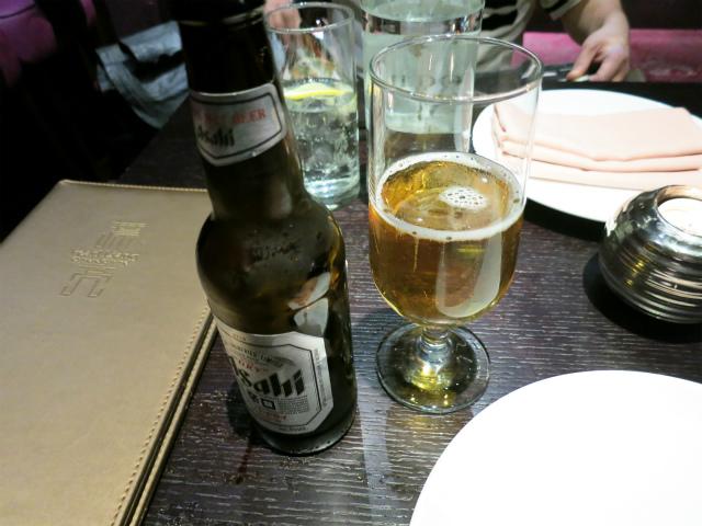 Asahi Beer £4.20