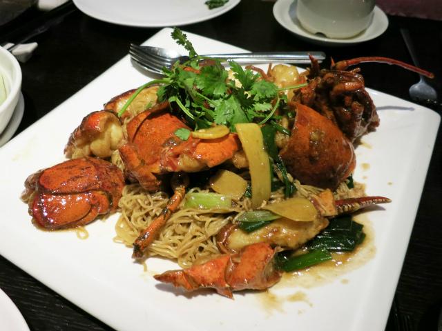Lobster w/ Noodles Seasonal Price