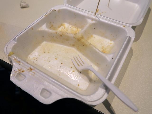 食べ飽きはしたが完食