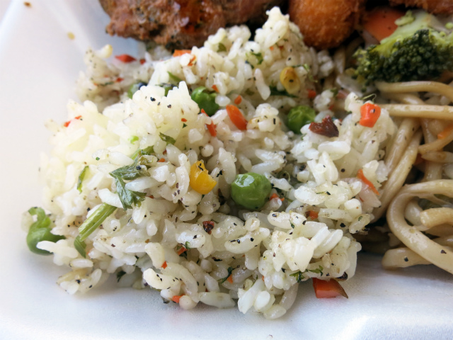 チャーハン(Fried Rice)も美味しい