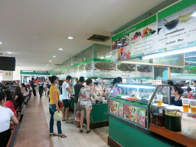 Talat Sao Food Court, Vientiane