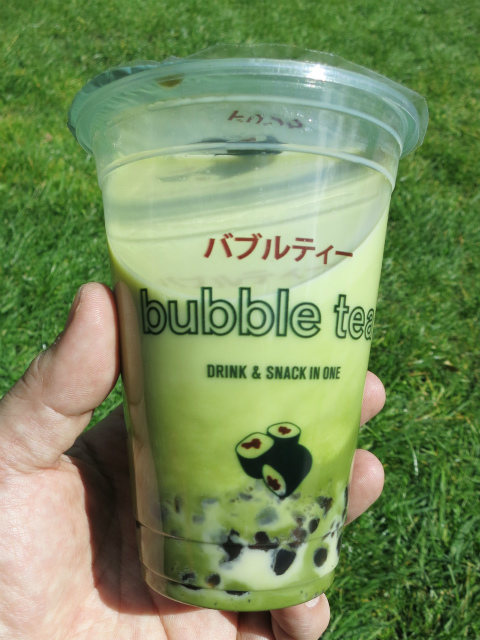 Matcha Bubble Tea(T) £2.95