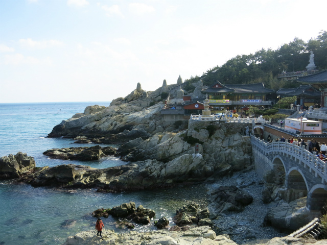 海辺の寺、龍宮寺(용궁사/ヨングンサ)