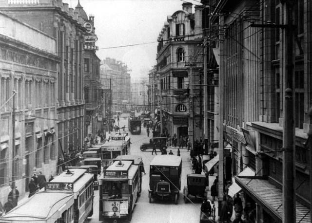 1920年代 上海の様子