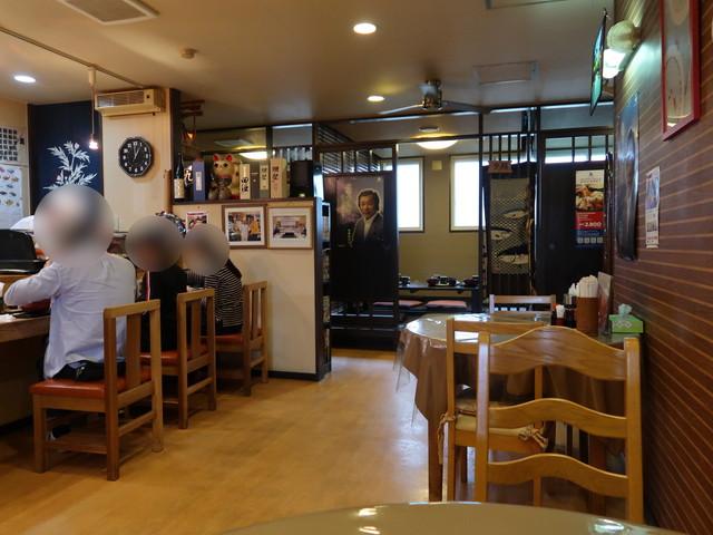食事処 㐂多や 店内の様子