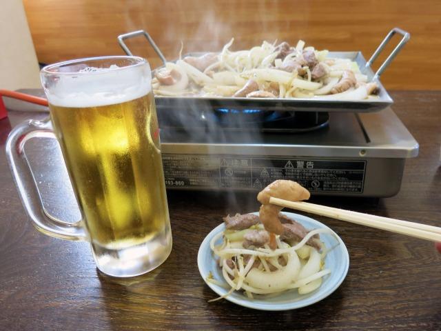 ホルモン・サガリ・野菜セットと樽生