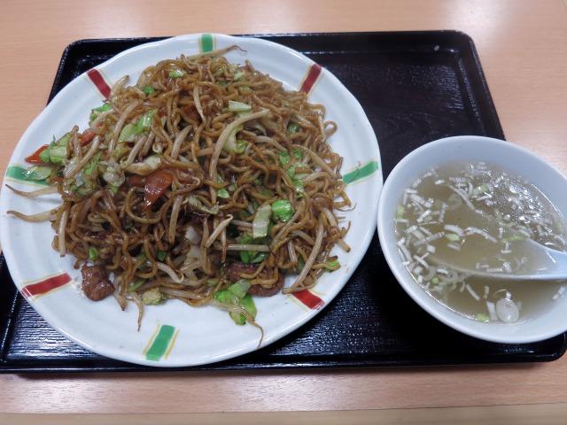 チャーメン(ソース焼きそば) 550円