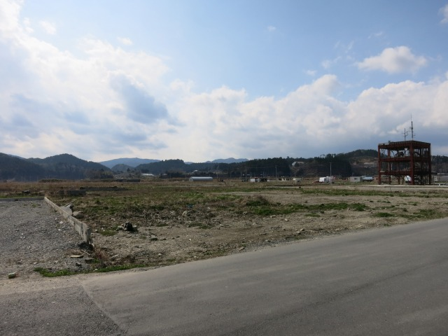 志津川 復興までの道のりは遠い