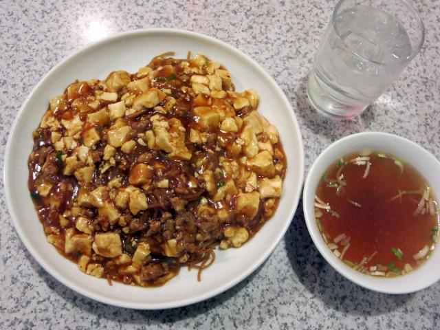 麻婆炒麺(マーボー焼きそば) 820円