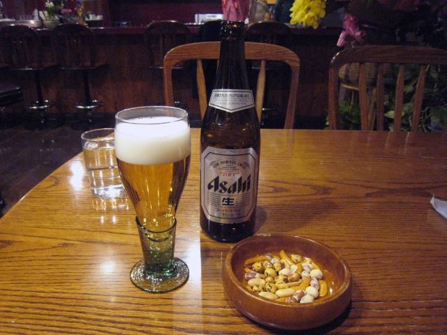 ビール(中) 570円