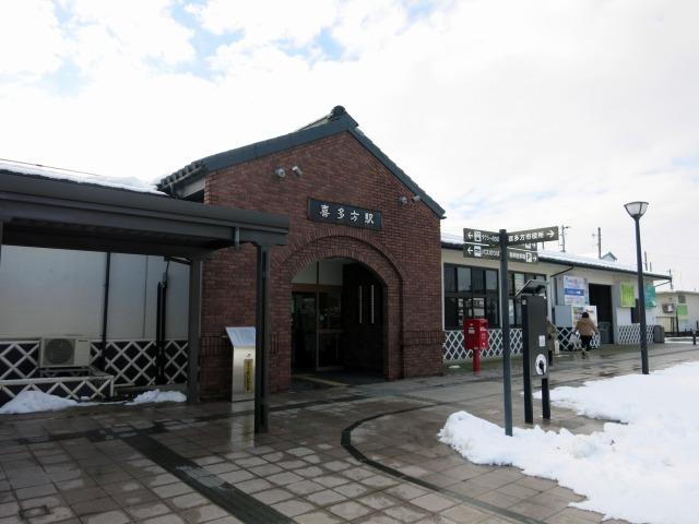 JR磐越西線 喜多方駅