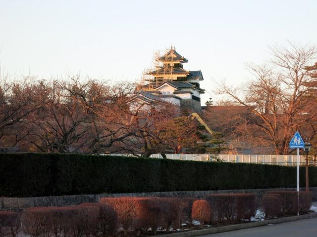 日本100名城のひとつ 白河小峰城