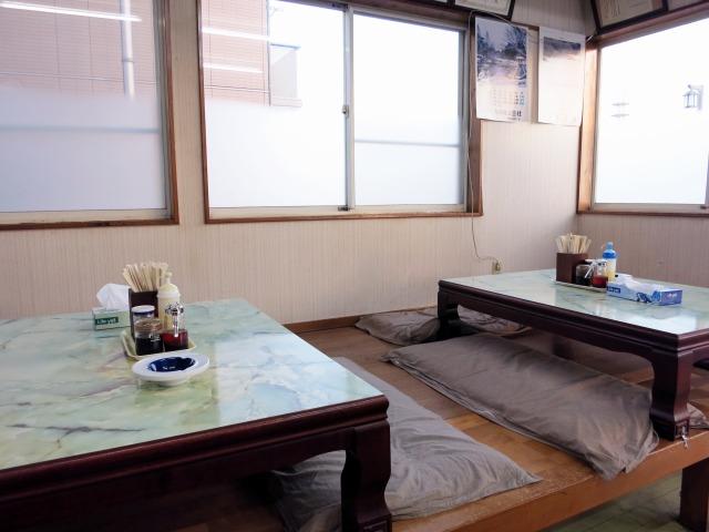 菊忠製麺分店 店内の様子