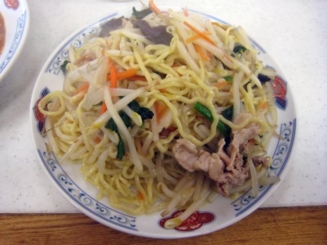 炒麺 550円