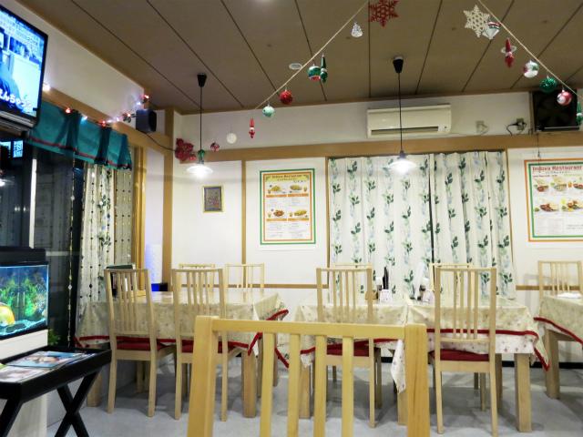 インドヤレストラン 店内の様子