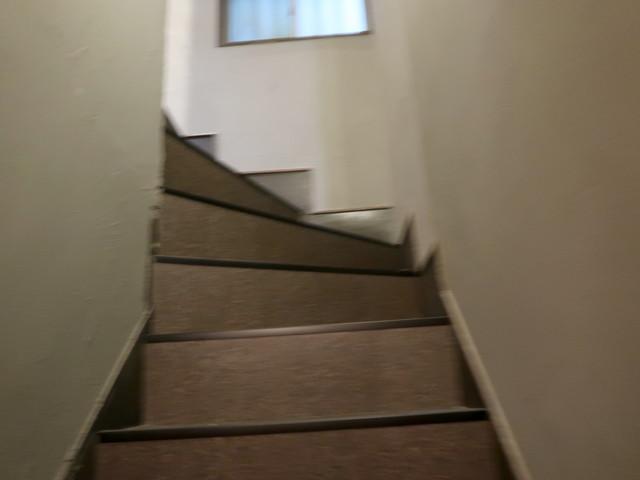階段を登ってみる