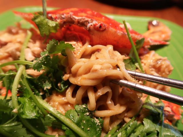 蟹味噌の濃厚な旨味