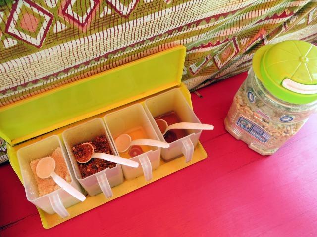 タイ料理定番の調味料類