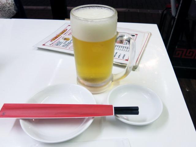 生ビール 500円