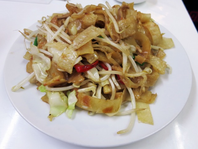 炒餅(平打ち麺炒め) 980円