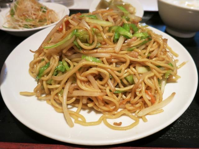台式炒麺(台湾式やきそば) 単品でも750円