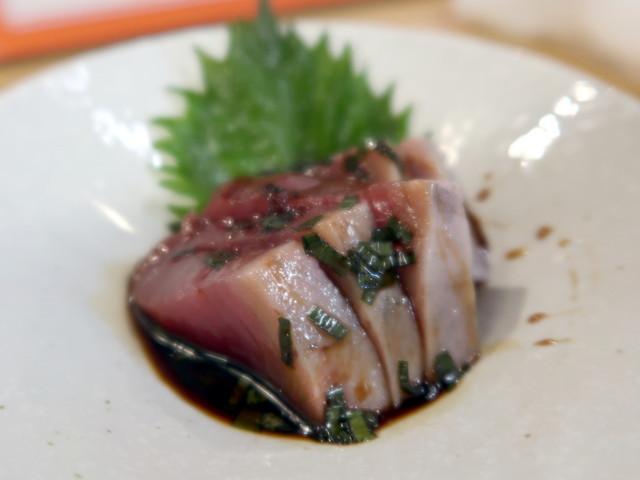 カツオニラ醤油 580円