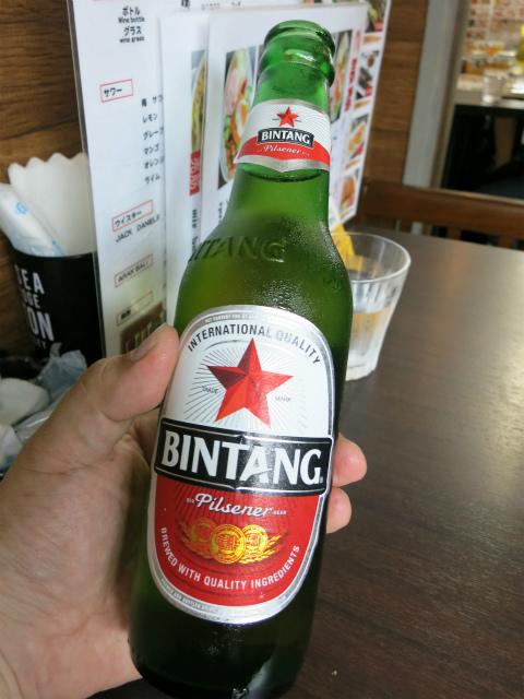 ビンタンビール 500円