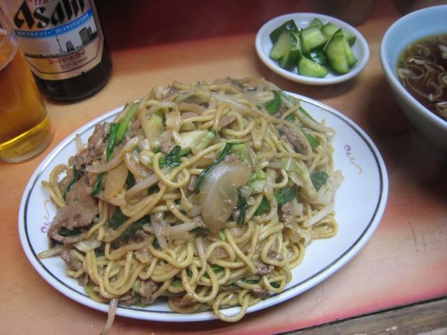 レバニラ炒麺(レバニラヤキソバ) 800円