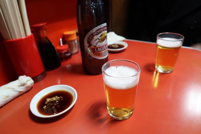 キリン・ラガービール(大) 600円
