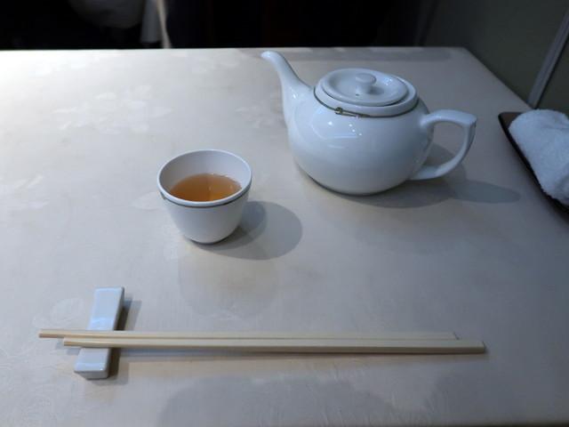 中国茶のポットが嬉しい