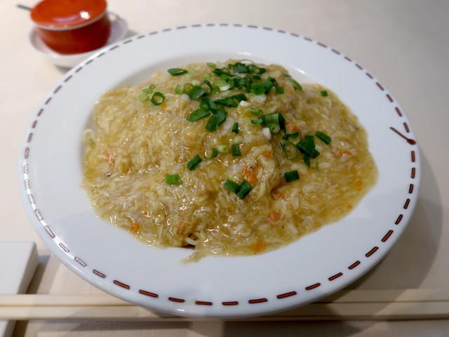 上海蟹焼きそば 1700円(ランチ)