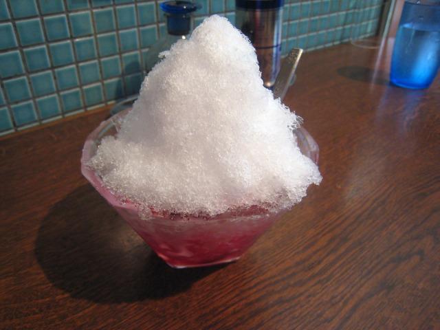 イチゴ味 かき氷