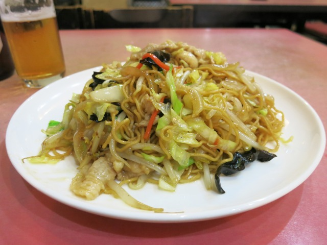 北京炒麺(野菜たっぷり入り焼きそば) 800円