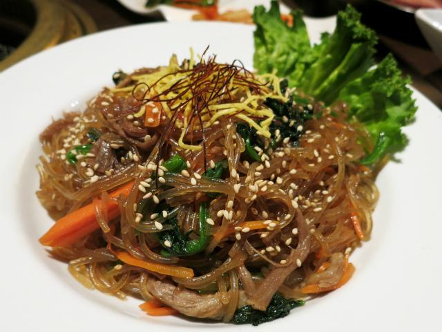 チャプチェ(春雨と五目野菜炒め) 750円