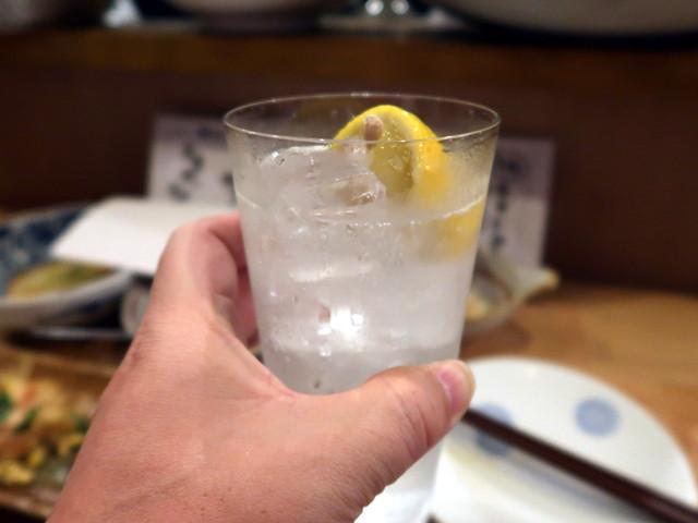 生レモンサワー 600円