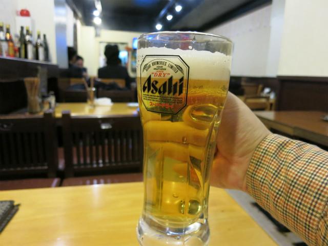 生ビール 220円