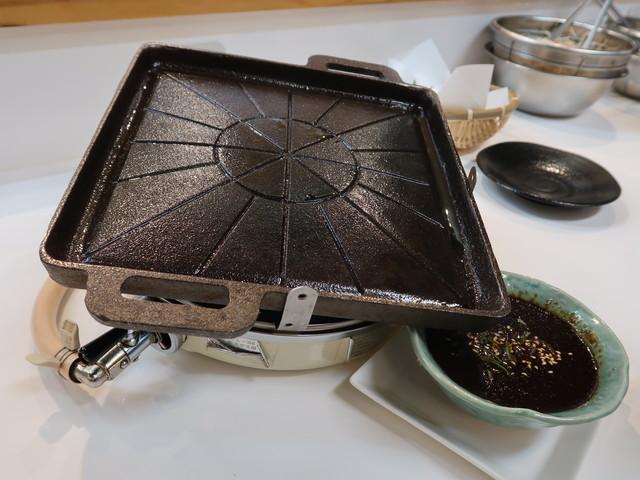 特製の鉄鍋