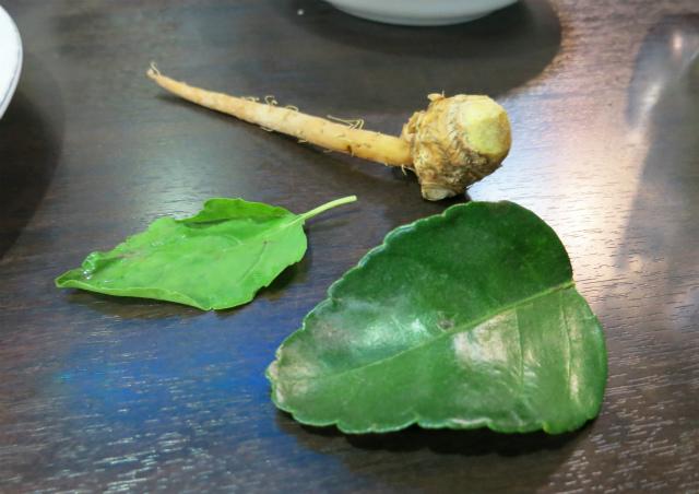 タイの食材のお勉強