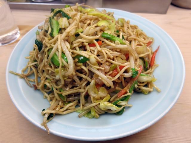 炒麺(軟い焼ソバ) 770円