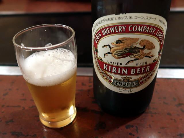 瓶ビール(大) 700円