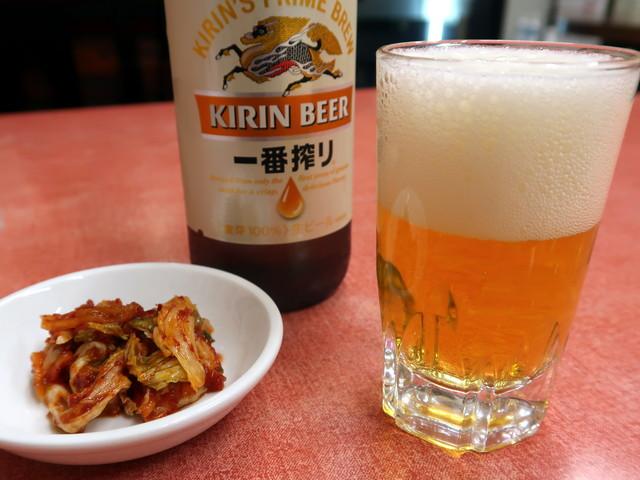 瓶ビール(中) 550円