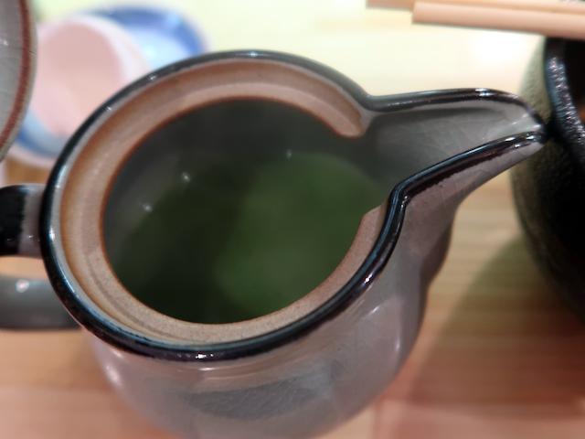 こだわりの抹茶そば湯 50円