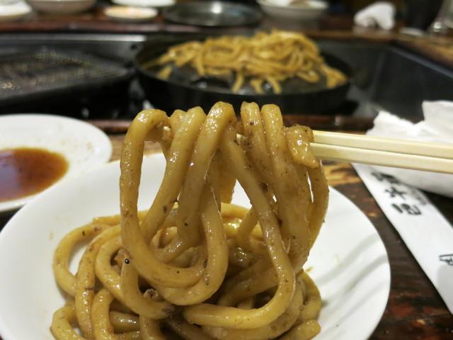 コシの無いモチモチ麺