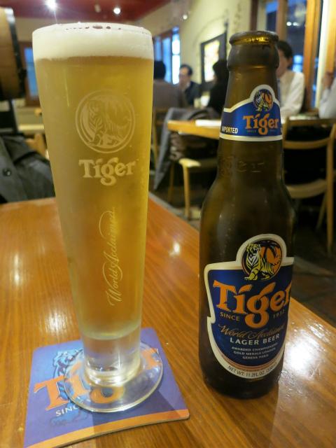 タイガービール 650円
