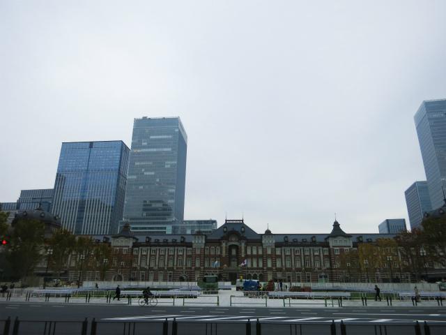 以上、東京駅からでした