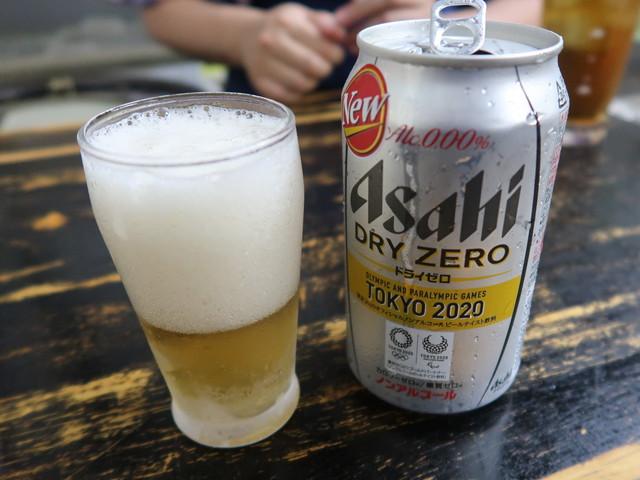 新型コロナ下なのでノンアルビール